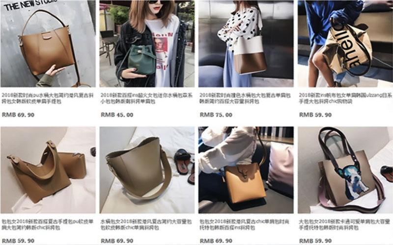 Thoả sức order túi xách trên Taobao với nhiều mẫu mã, kiểu dáng, màu sắc